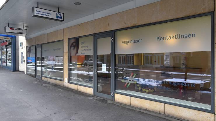 An der Frohburgstrasse 10 stehen die Räumlichkeiten im Parterre aktuell leer. Bruno Kissling