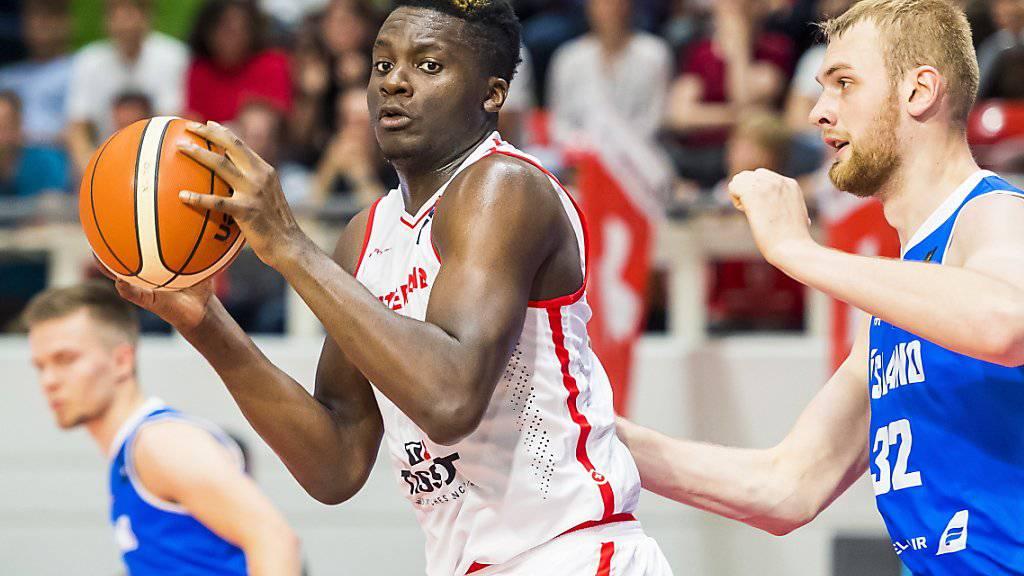 Clint Capela führte das Schweizer Basketball-Nationalteam in die «reguläre» EM-Qualifikation