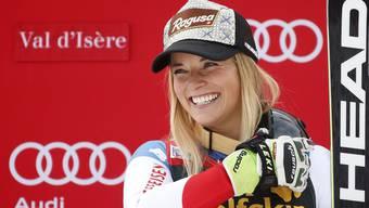 Halten Lara Gut (Bild) und Lindsey Vonn beide bis zum Halbfinal durch, kommt es im Direktduell zum Schlagabtausch der beiden Ski-Stars.
