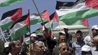 Kundgebung im Gazastreifen für palästinensische Einheit