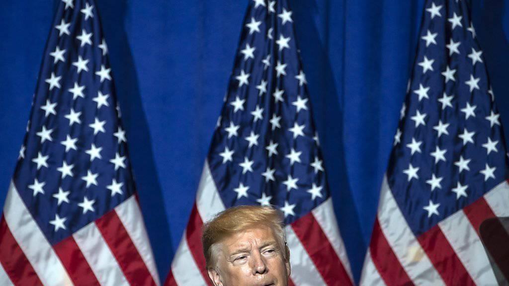 Musste im Streit um seine Steuerunterlagen eine Niederlage einstecken: US-Präsident Donald Trump. (Archivbild)