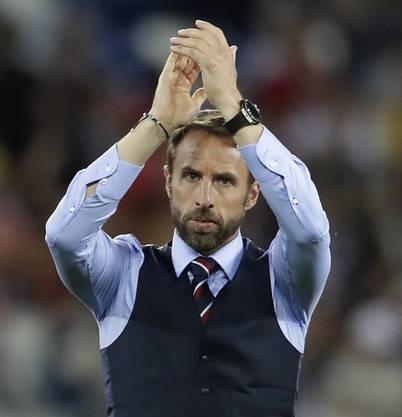 Nationaltrainer Gareth Southgate hat mit England viele Hoffnungen geweckt.