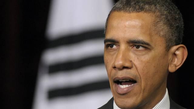 Barack Obama will die iranische Zentralbank weiter unter Druck setzen (Archiv)
