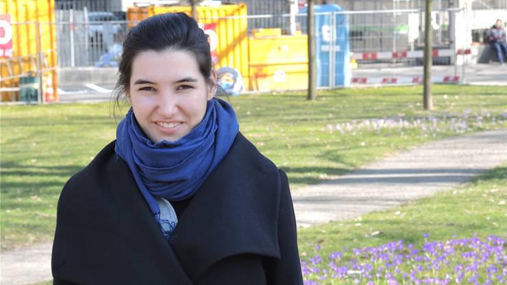 Die Musikpädagogin Anna Tuena möchte zeitgenössische Musik vermitteln.