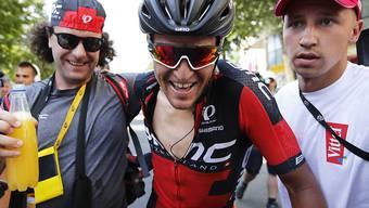 Greg Van Avermaet gewann die 5. Etappe in Le Lioran solo. Der Belgier übernahm damit auch das Gelbe Trikot vom Slowaken Peter Sagan
