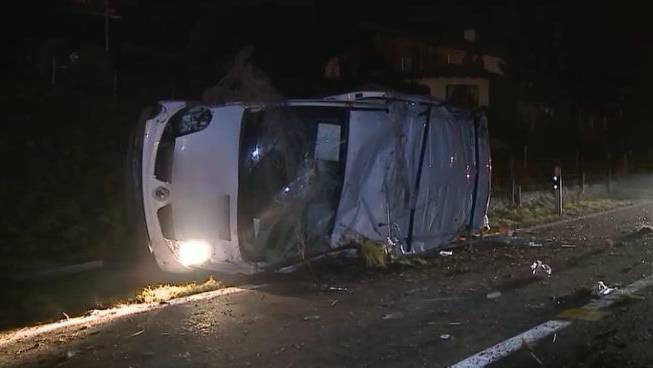 Der betroffene Unfall im Freiamt vom Mittwoch, 9. Januar 2013