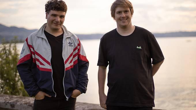 Aaron Keller (links) und Moritz Schmid: Die Initianten des ersten Schweizer Livestream-Openairs hoffen, ihren Traum von einem Corona-konformen Festival realisieren zu können.