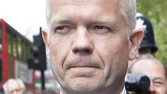 Britischer Aussenminister William Hague (Archiv)