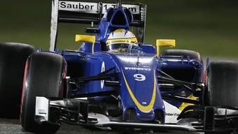 Vorjahresmodell: Sauber tritt zu den ersten Formel-1-Tests in Montmeló bei Barcelona noch mit dem Auto aus der letzten Saison an