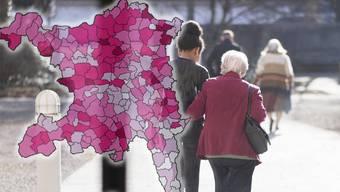 Im nächsten Jahrzehnt wird der Anteil der über 65-Jährigen zunehmen