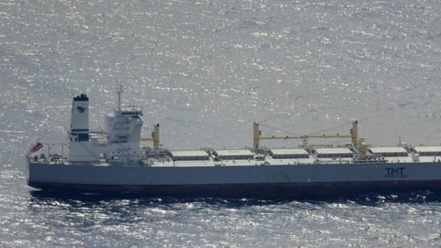 Tankschiff soll Oel aufsaugen