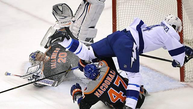 Die New York Islanders und Tampa Bay sorgten für Unterhaltung