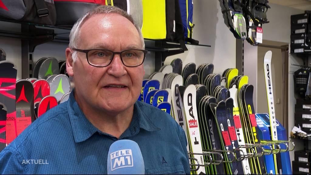 Nach Zwangspause: Sportgeschäft in Schöftland wieder offen