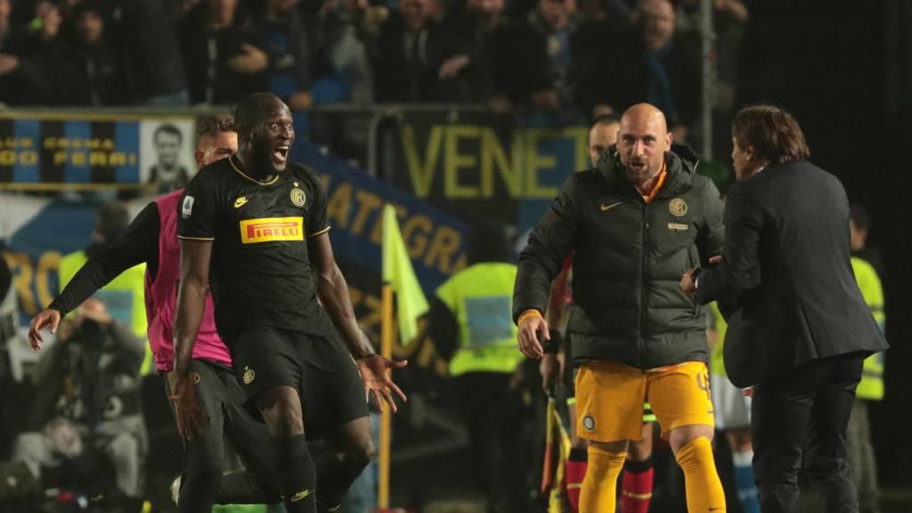 Inter Mailand setzt sich an die Spitze