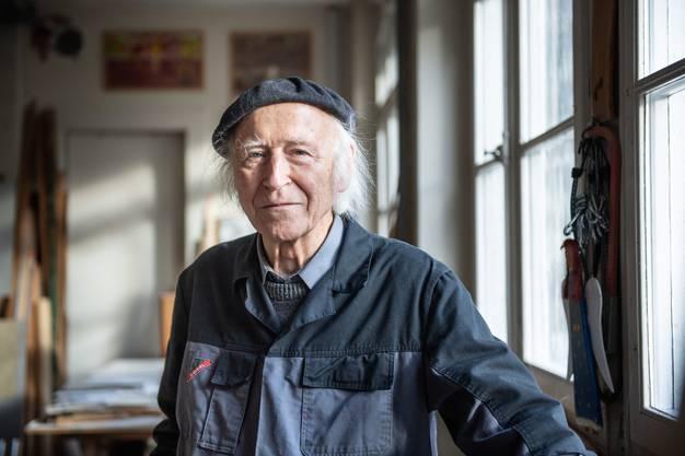 1958 entschied sich Roman Candio, Künstler zu werden.