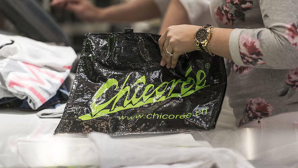 Chicorée hat 2018 von der Pleite des Konkurrenten OVS (früher Charles Vögele) profitiert. So eröffnete der Modehändler acht neue Läden, davon einige in Liegenschaften, die durch den Konkurs freigeworden waren. (Archiv)