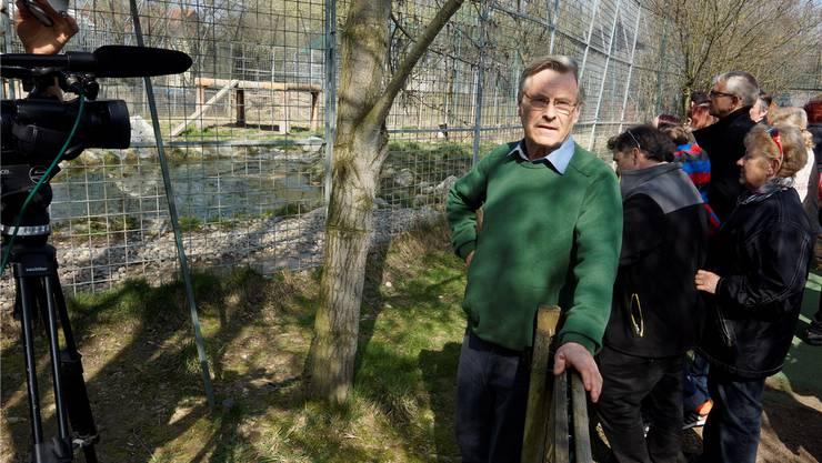 Im März wurde für den Raubtierpark von René Strickler demonstriert