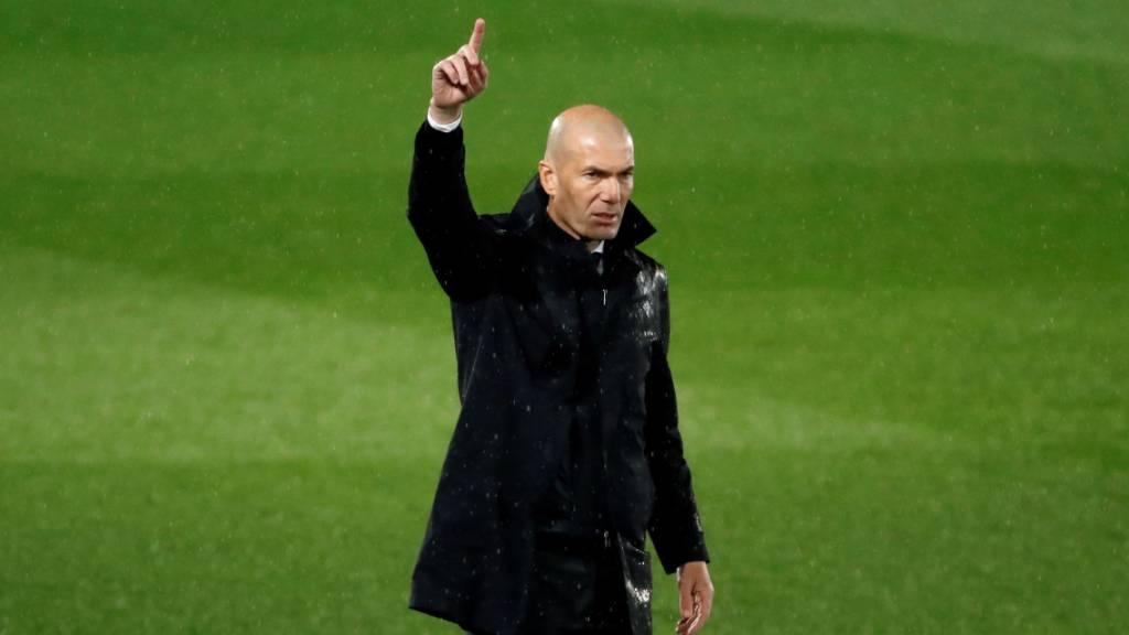 Zinédine Zidane gibt das Traineramt bei Real Madrid ein zweites Mal ab