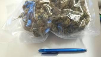 Die Zöllner stellten das Marihuana sicher.