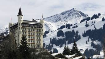 Auch in Gstaad trieben die Übeltäter ihr Unwesen. Im Bild das Hotel Gstaad Palace (Symbolbild)