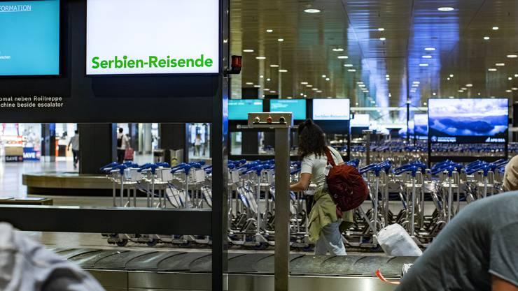 Der Flughafen Zürich erlebte 2020 wegen der Coronapandemie einen historischen Passagiereinbruch.
