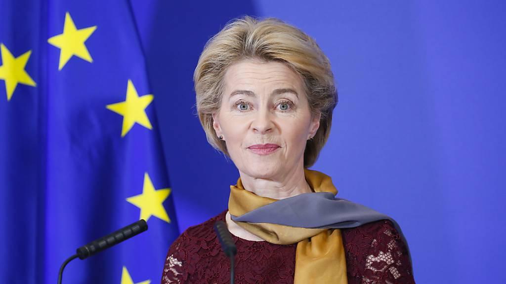 Von der Leyen: Verantwortung für ein stärkeres Europa
