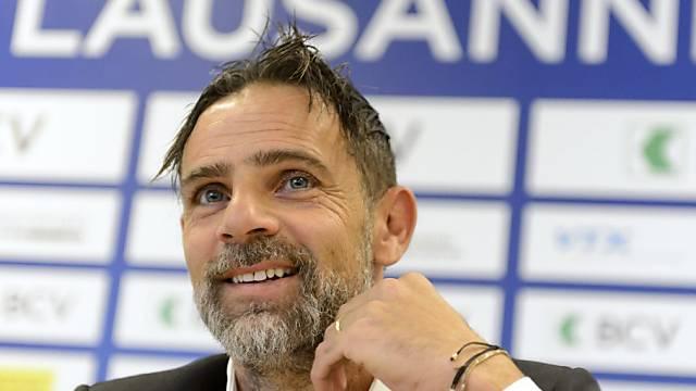 Nach wenigen Monaten zurück in Lausanne: Marco Simone