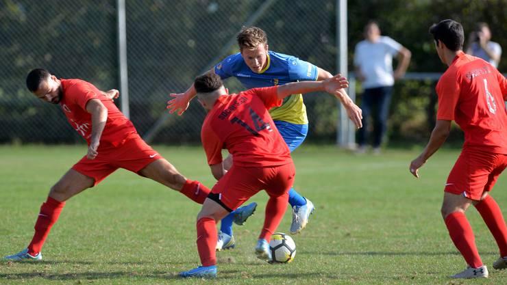 Am FC Iliria gabs in der laufenden Saison bislang kein Vorbeikommen, auch nicht für den Biberister Marco Imbach.