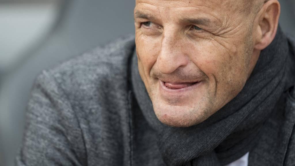 Der FCSG mit Trainer Peter Zeidler braucht gegen Zürich Punkte.
