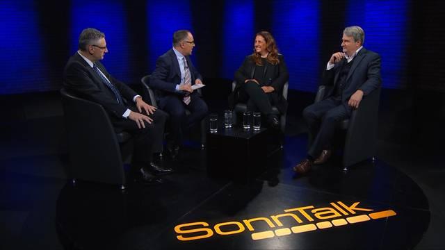 Sehen Sie hier den ganzen «SonnTalk» vom 10. Januar zu denThemen: Schande von Köln – Sexuelle Gewalt – SVP-Doppelrücktritt