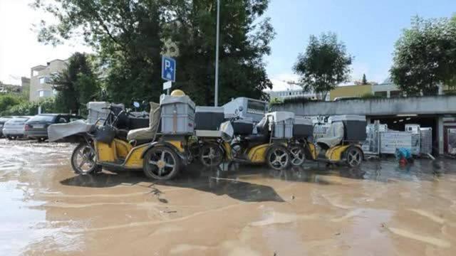 Nach heftigen Gewittern: Aufräumarbeiten in Pfäffikon