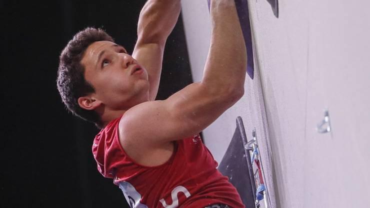 EM-Gold für Sascha Lehmann: Der Berner kletterte in Moskau im Lead-Final von allen acht Finalisten am höchsten