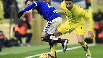 Kein Durchkommen für Villarreal gegen Betis Sevilla (hier Musacchio/links).