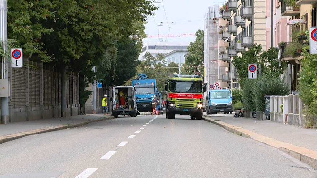 Mehrere Dutzend Personen evakuiert: Erdgas-Leck im Zürcher Kreis 3