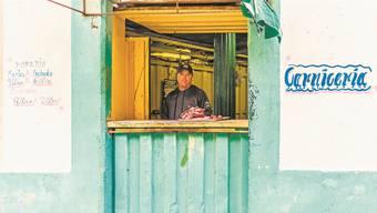 Fleischstand in Havanna: Jegliche Eiweissquellen sind in Kuba aktuell besonders gesucht.