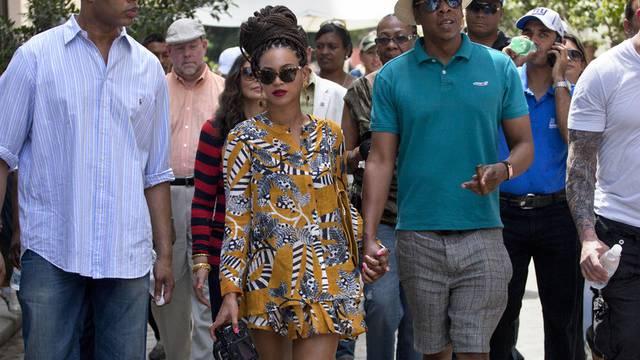 Sorgten für Aufsehen während ihres Besuchs in Havanna: Beyoncé und Jay-Z (Archiv)