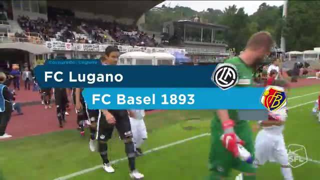 Lugano - FC Basel 2:2 30.9.2018