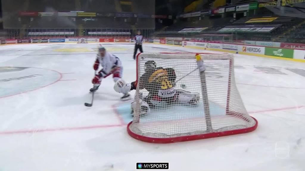 Lakers landen historischen Sieg in Bern - 2:1 nach Penaltyschiessen