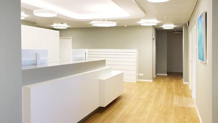 Pallas Kliniken: Neu gestaltete Räumlichkeiten an der Louis-Giroud-Strasse in Olten.