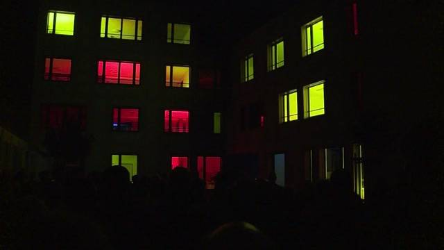Lichtshow für psychisch Kranke