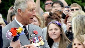 Zahlreiche Neuseeländer freut der Besuch von Prinz Charles
