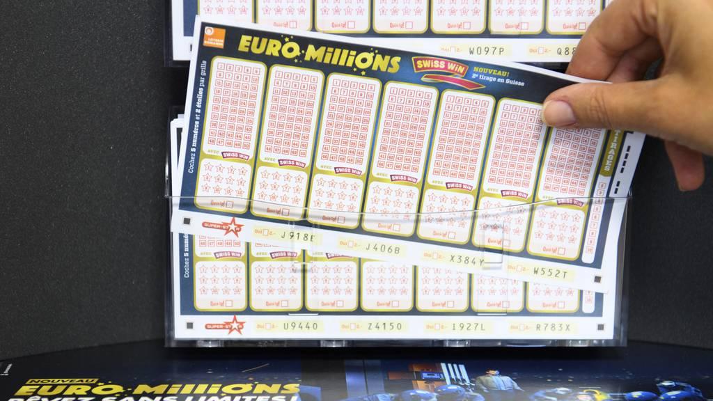 140 Millionen Franken sind im Jackpot