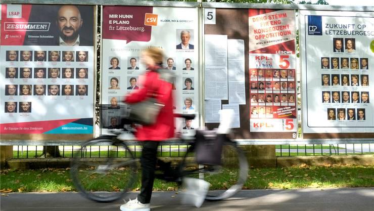 Am Sonntag finden die Wahlen in Luxemburg statt, doch die Parteien bleiben eine Antwort auf die Wachstumsprobleme schuldig.JULIEN WARNAND/EPA/KEY
