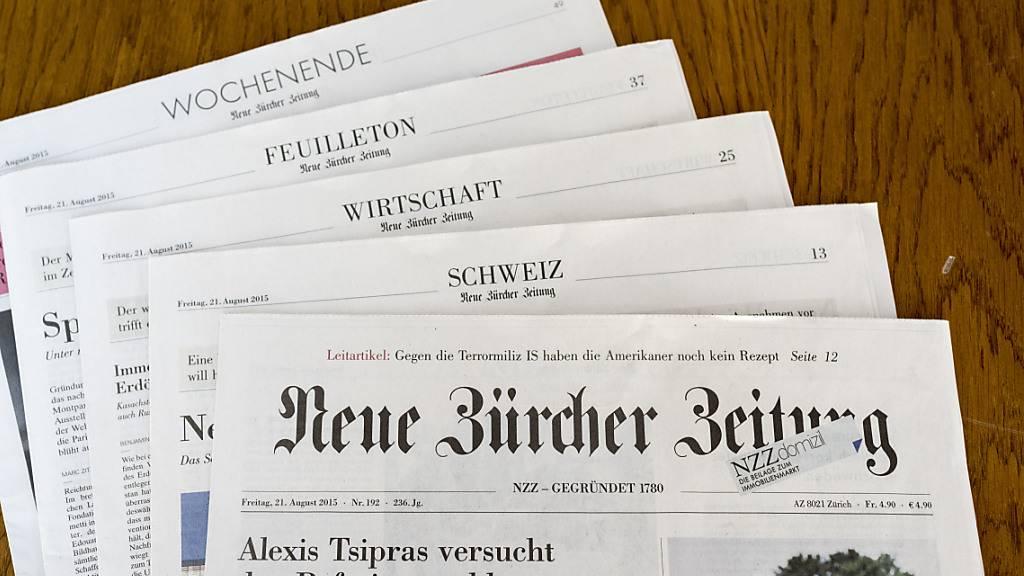 NZZ-Mediengruppe will Kosten senken und Personal entlassen