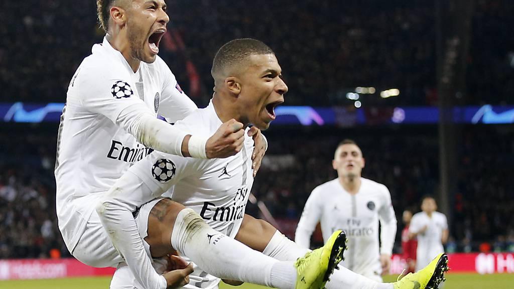 Allen voran Neymar und Kylian Mbappé sorgen bei PSG für Spektakel und Glanz