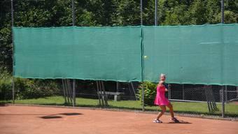 Jenny Dürst kämpfte, konnte die Niederlage des TC Weihermatt gegen Sursee aber auch nicht verhindern.