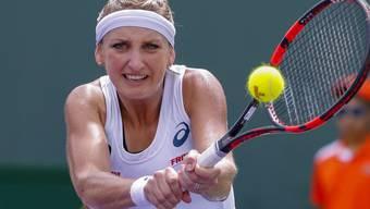 Schlug in Miami mit Agnieszka Radwanska erstmals eine Spielerin aus den Top 3: Timea Bacsinszky