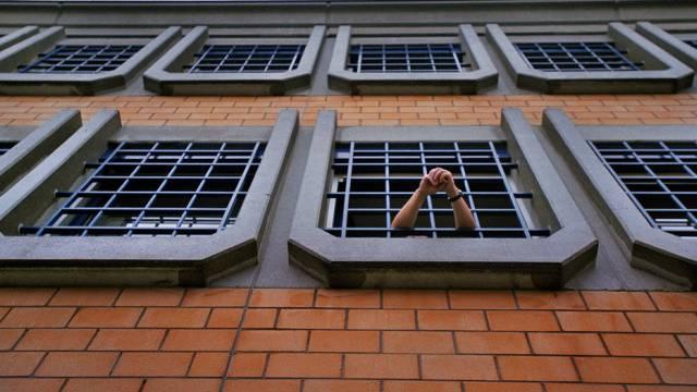 Ein Häftling in der Strafanstalt Pöschwies bei Zürich (Symbolbild)