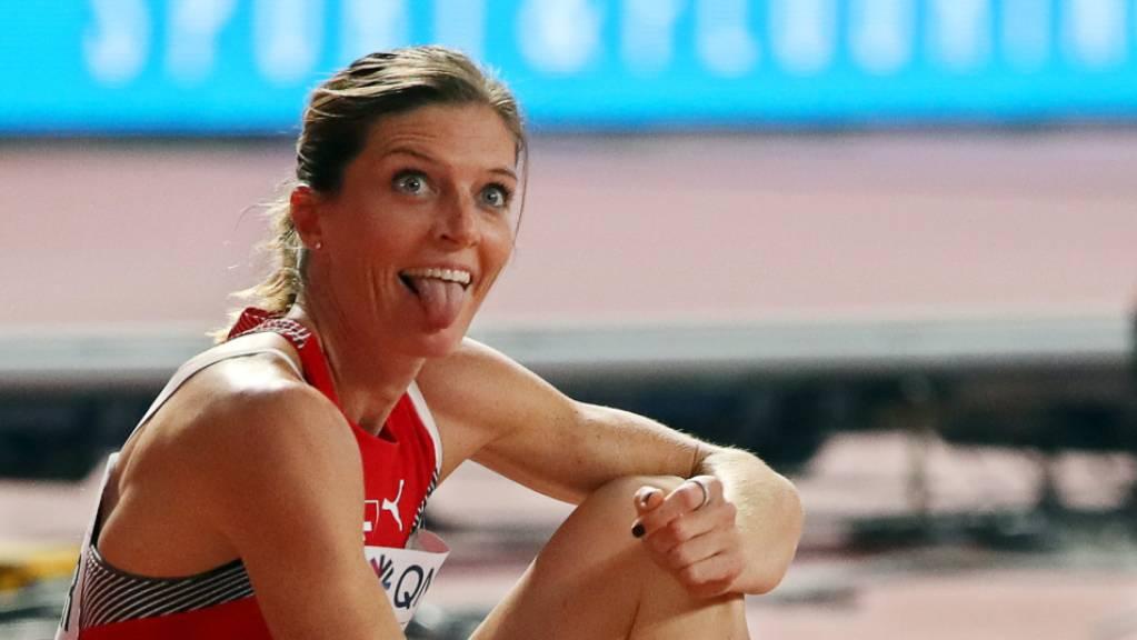 Endlich hat es für Lea Sprunger geklappt mit dem Schweizer Rekord.