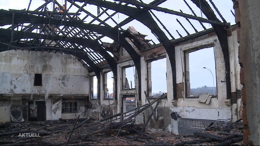 Holderbank: Dorfleben leidet unter dem Turnhallen-Brand